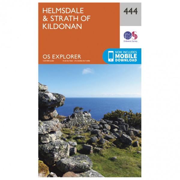 Ordnance Survey - Helmsdale / Strath Of Kildonan Explorer - Hiking map