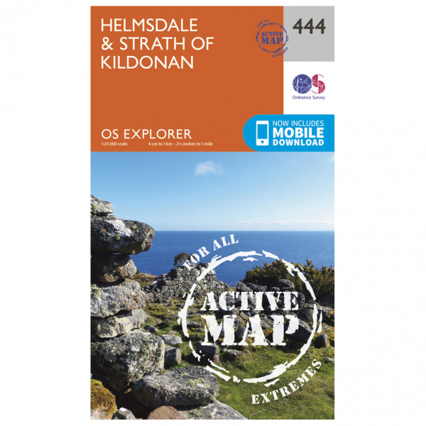 Ordnance Survey - Helmsdale / Strath Of Kildonan Explorer Waterproof - Turkart