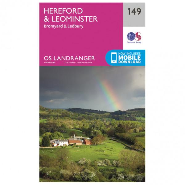 Ordnance Survey - Hereford / Leominster - Vandringskartor