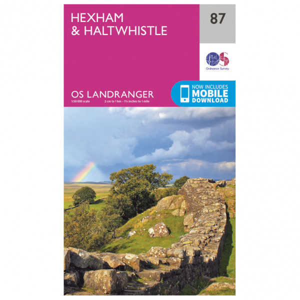 Hexham / Haltwhistle - Hiking map