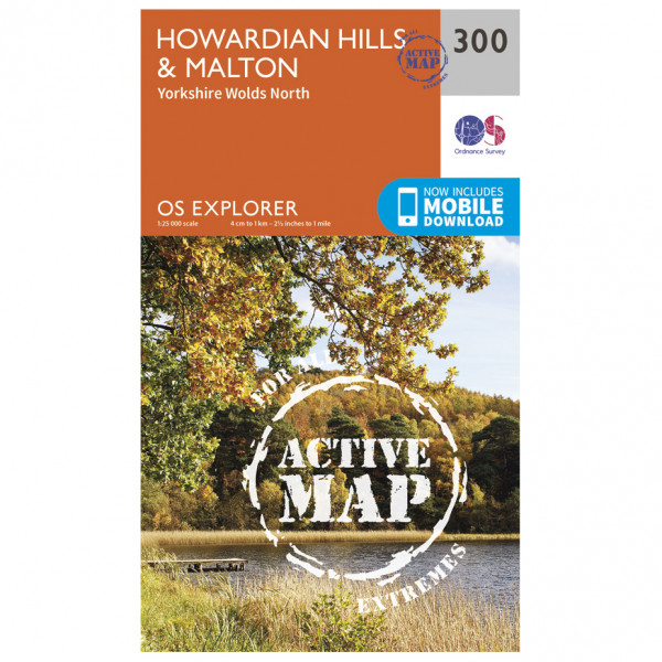 Ordnance Survey - Howardian Hills / Malton Waterproof - Vaelluskartat