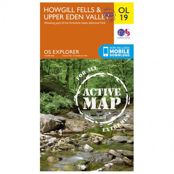 Ordnance Survey - Howgill Fells And Upper Eden Valley Waterproof EXPL019 - Wanderkarte