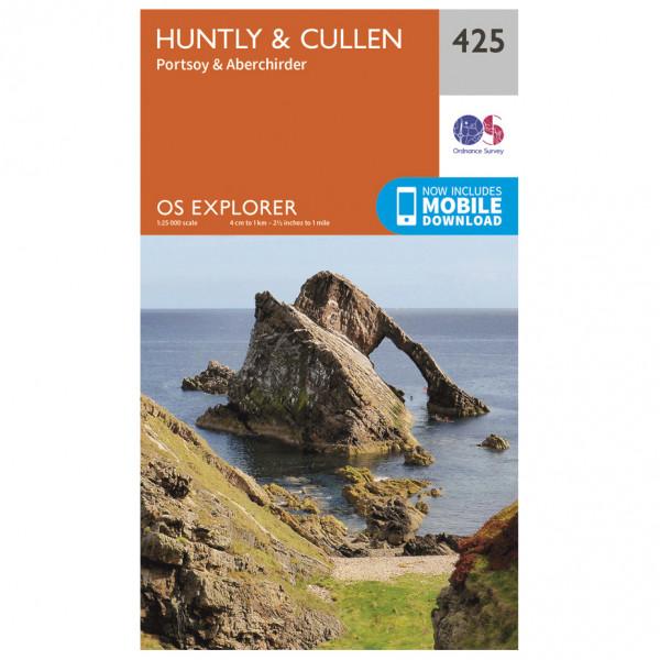Ordnance Survey - Huntly / Cullen - Vaelluskartat