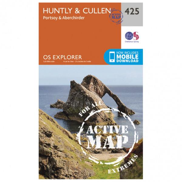 Ordnance Survey - Huntly / Cullen Waterproof - Hiking map