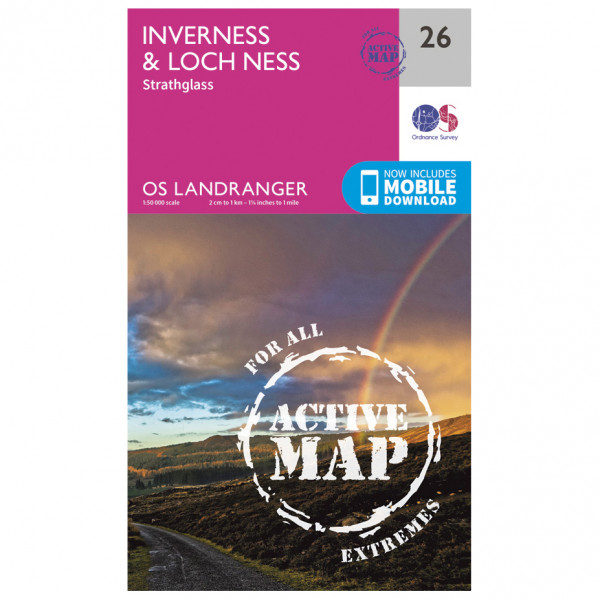Ordnance Survey - Inverness / Loch Ness Waterproof - Turkart