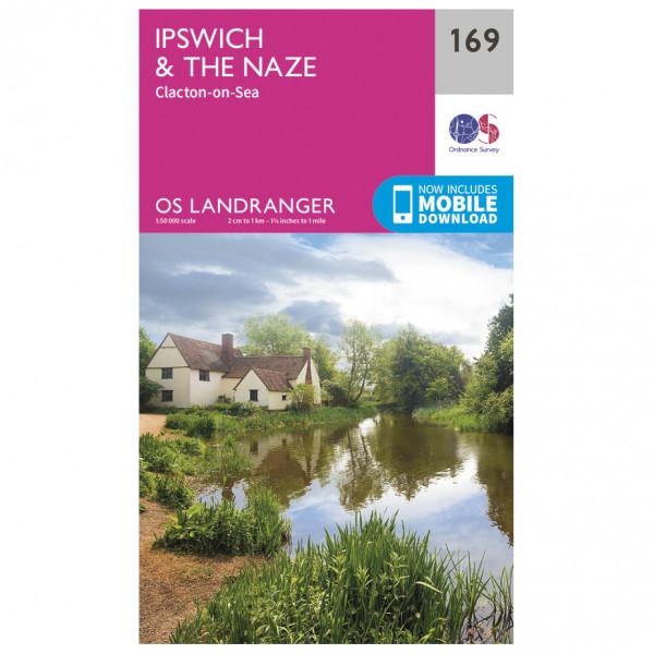 Ordnance Survey - Ipswich / The Naze / Clacton-On-Sea - Hiking map
