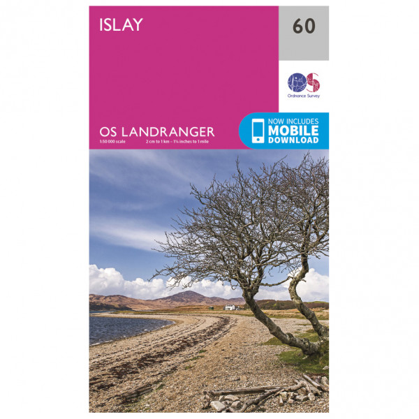 Ordnance Survey - Islay - Vandrekort