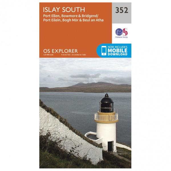 Ordnance Survey - Islay South - Vandrekort