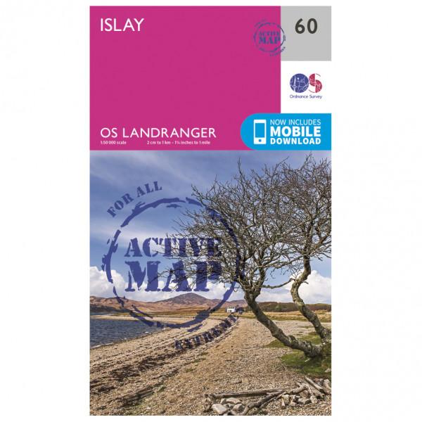 Ordnance Survey - Islay Waterproof - Vandrekort