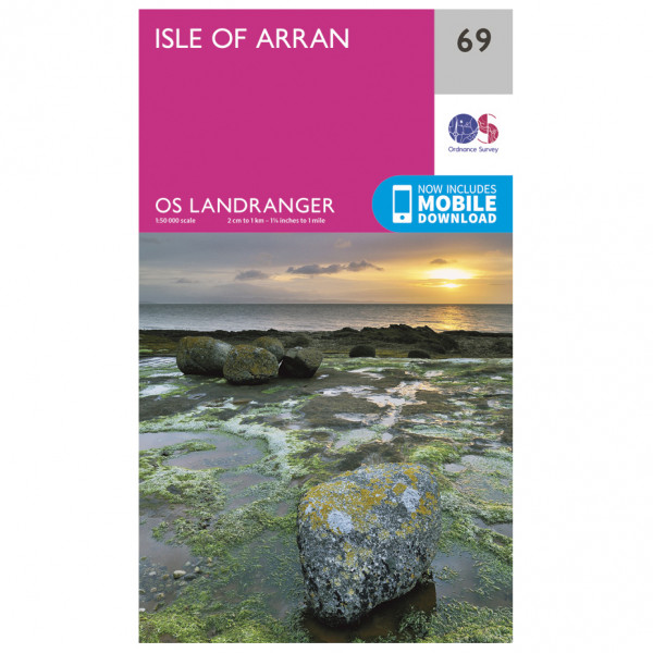 Ordnance Survey - Isle Of Arran - Vaelluskartat