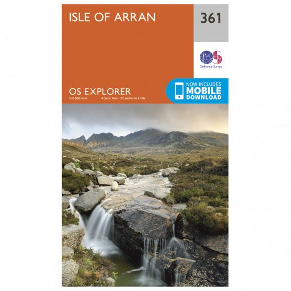 Ordnance Survey - Isle Of Arran Explorer - Turkart