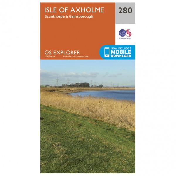 Ordnance Survey - Isle Of Axholme - Vandringskartor