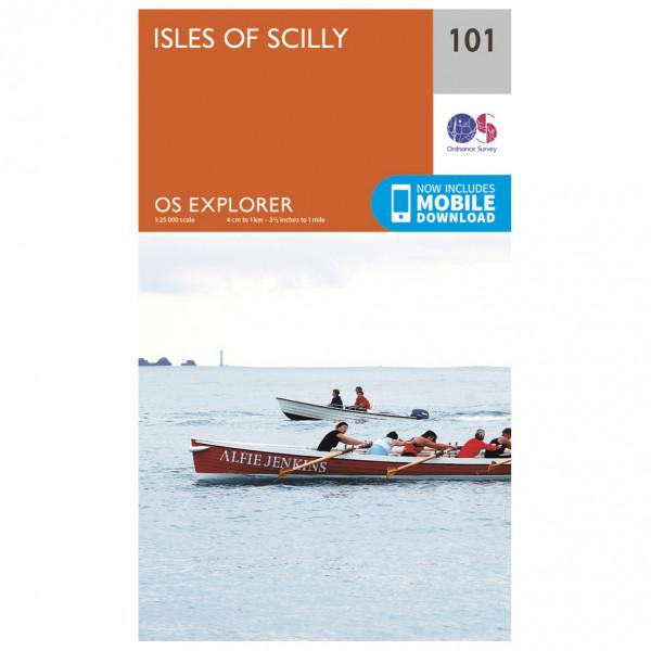 Ordnance Survey - Isles Of Scilly - Turkart