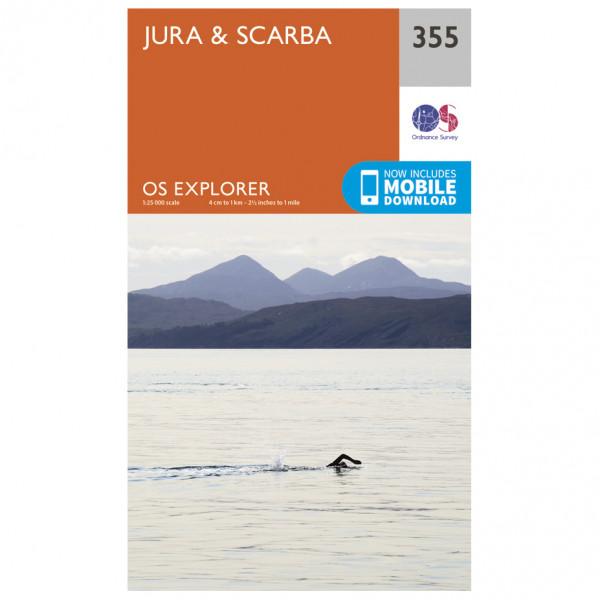 Ordnance Survey - Jura / Scarba - Wandelkaarten