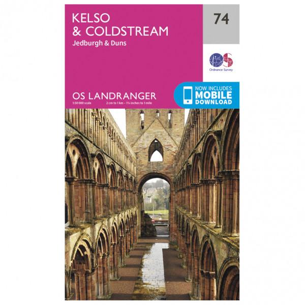 Ordnance Survey - Kelso / Coldstream - Mapa de senderos