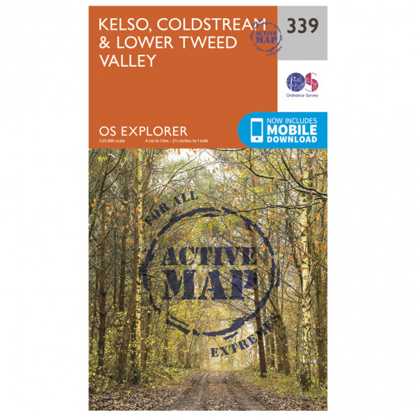 Ordnance Survey - Kelso / Coldstream / Lower Tweed Valley Waterproof - Vaelluskartat