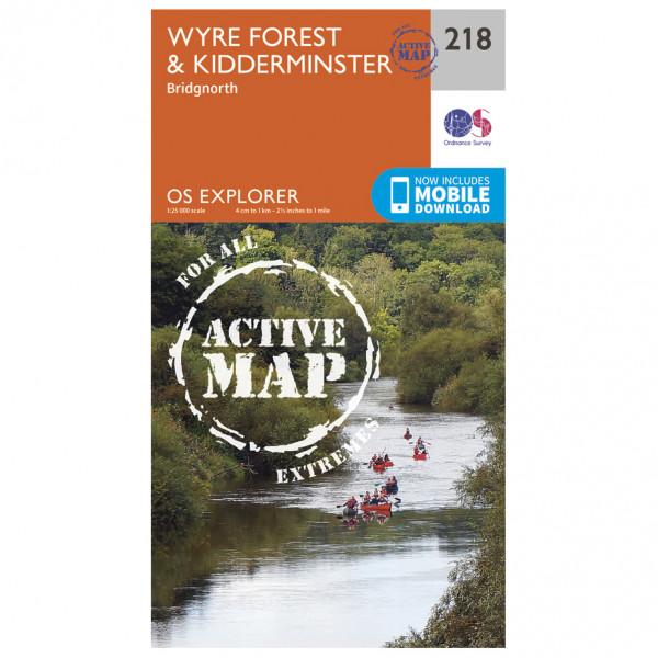 Ordnance Survey - Kidderminster / Wyre Forest Explorer Waterproof - Turkart