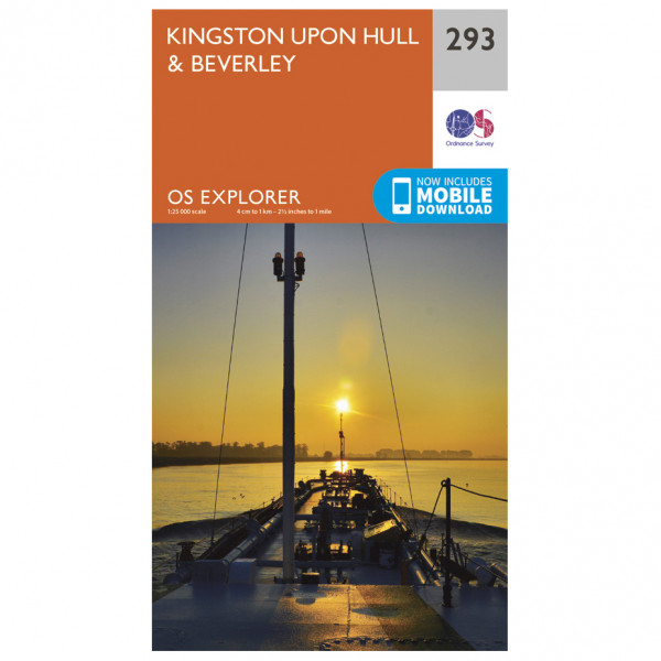 Ordnance Survey - Kingston Upon Hull / Beverley - Vandrekort