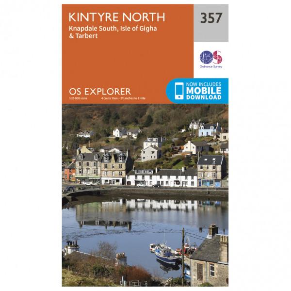 Ordnance Survey - Kintyre North - Vandringskartor