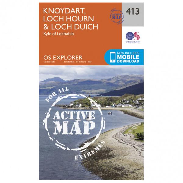 Ordnance Survey - Knoydart / Loch Houm Waterproof - Wandelkaarten