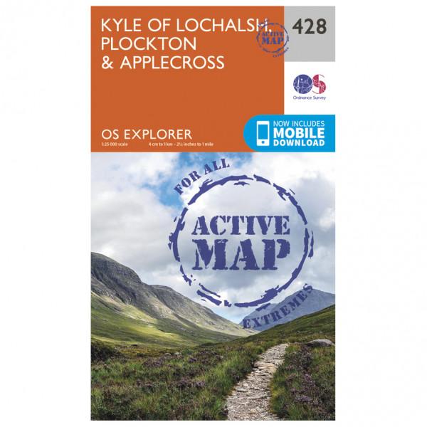 Ordnance Survey - Kyle Of Lochalsh Waterproof - Vaelluskartat