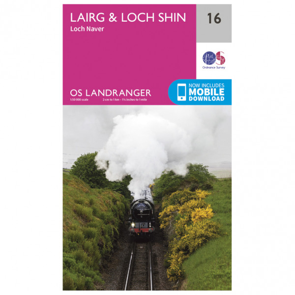 Ordnance Survey - Lairg / Loch Shin - Vandringskartor