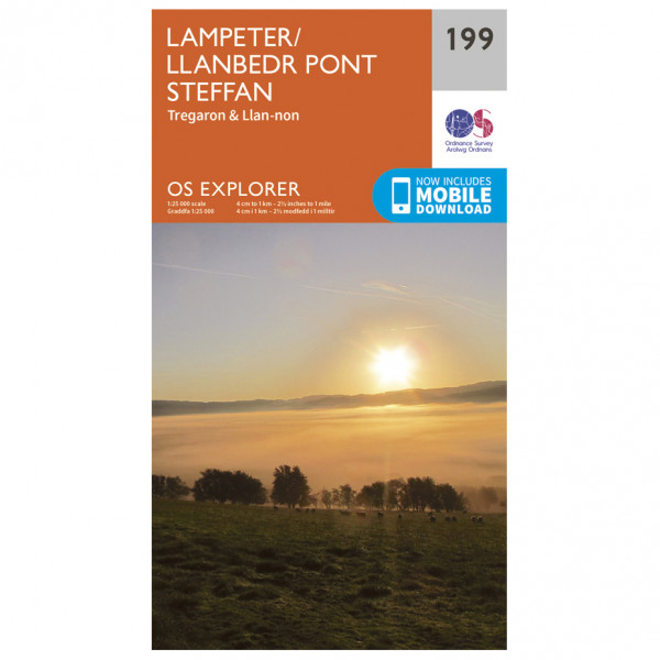 Ordnance Survey - Lampeter - Wandelkaarten