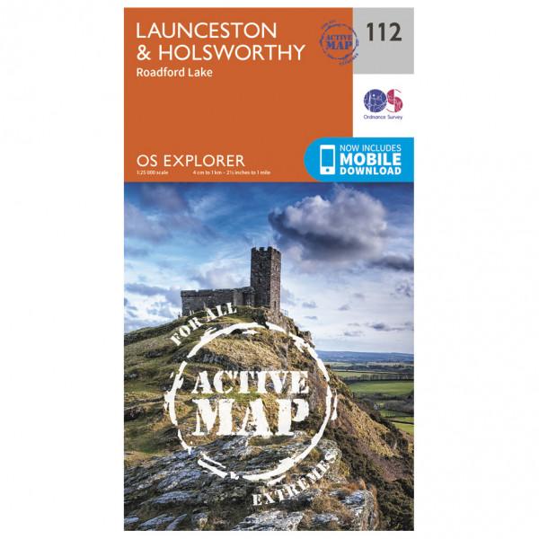 Ordnance Survey - Launceston / Holsworthy Waterproof - Wandelkaarten