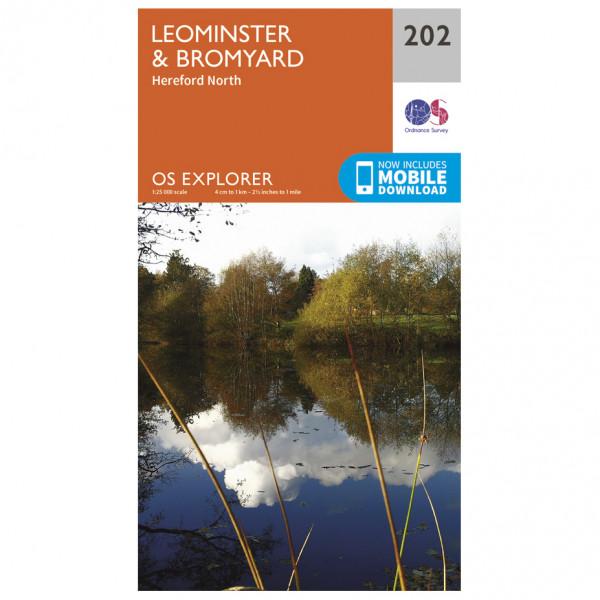 Ordnance Survey - Leominster / Bromyard - Turkart