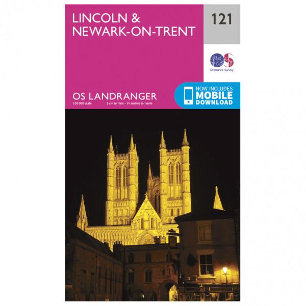 Ordnance Survey - Lincoln / Newark-On-Trent - Vandrekort