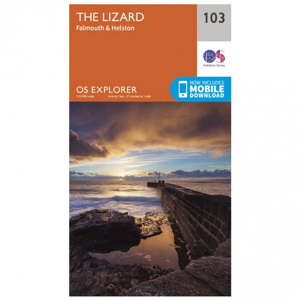 Ordnance Survey - Lizard (The) - Vaelluskartat