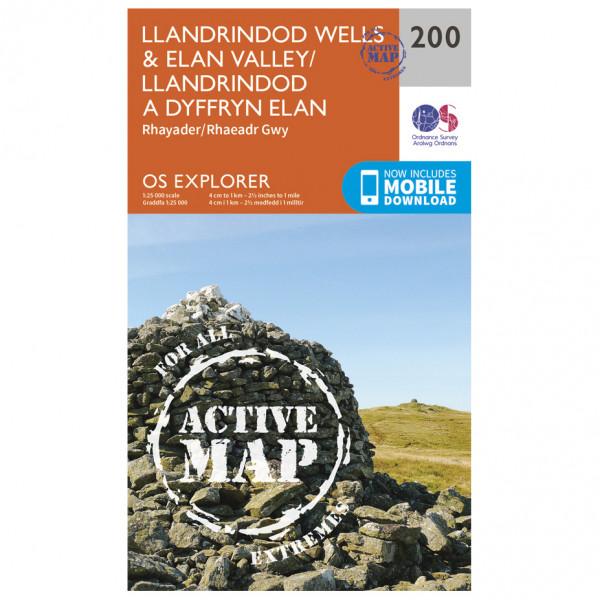 Ordnance Survey - Llandrindod Wells / Elan Valley / Rhayader Waterproof - Vaelluskartat