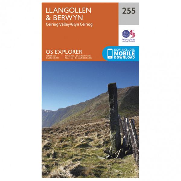Ordnance Survey - Llangollen / Berwyn - Vandringskartor