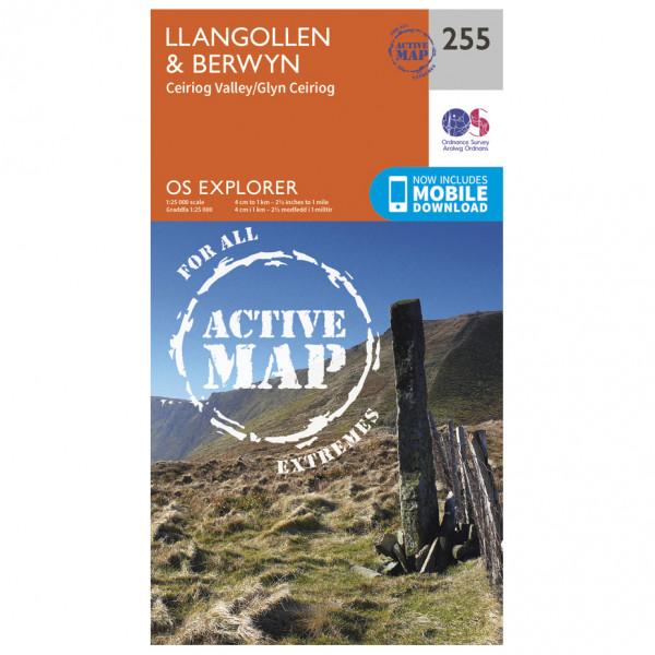 Ordnance Survey - Llangollen / Berwyn Waterproof - Wandelkaarten