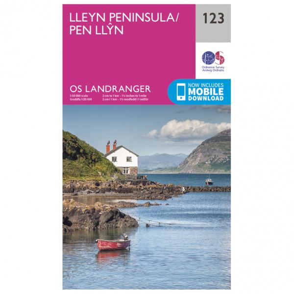 Ordnance Survey - Lleyn Peninsula - Vandringskartor