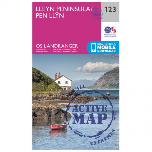 Ordnance Survey - Lleyn Peninsula Waterproof - Hiking map