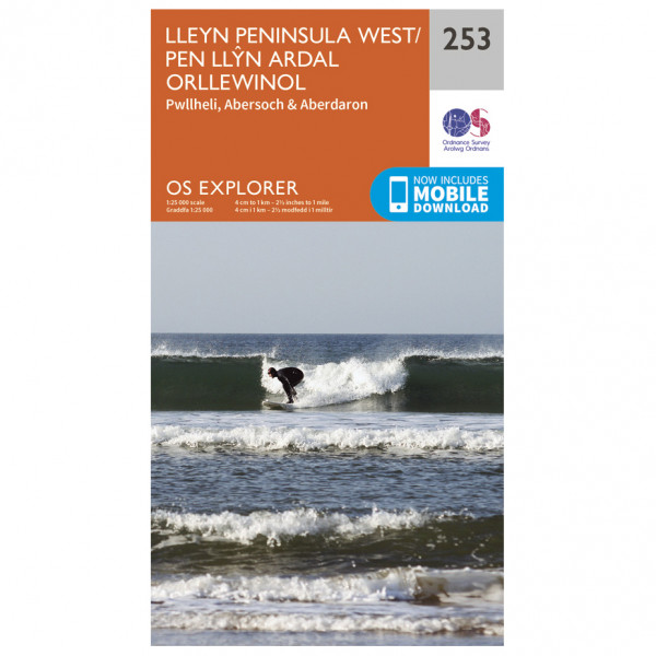 Ordnance Survey - Lleyn Peninsula West - Wandelkaart