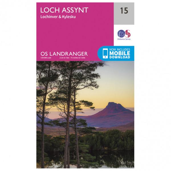 Ordnance Survey - Loch Assynt - Vaelluskartat