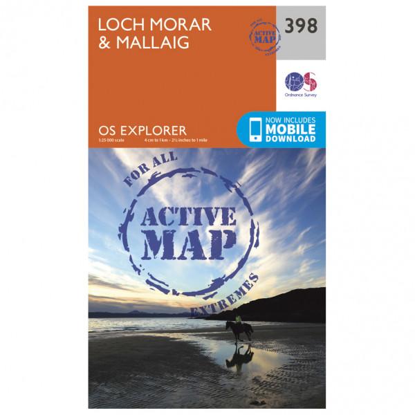 Ordnance Survey - Loch Morar / Mallaig Waterproof - Wandelkaarten