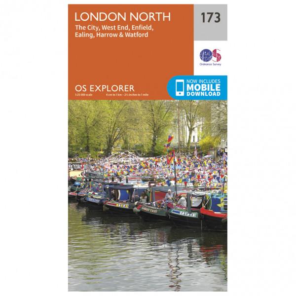 Ordnance Survey - London North - Wandelkaarten