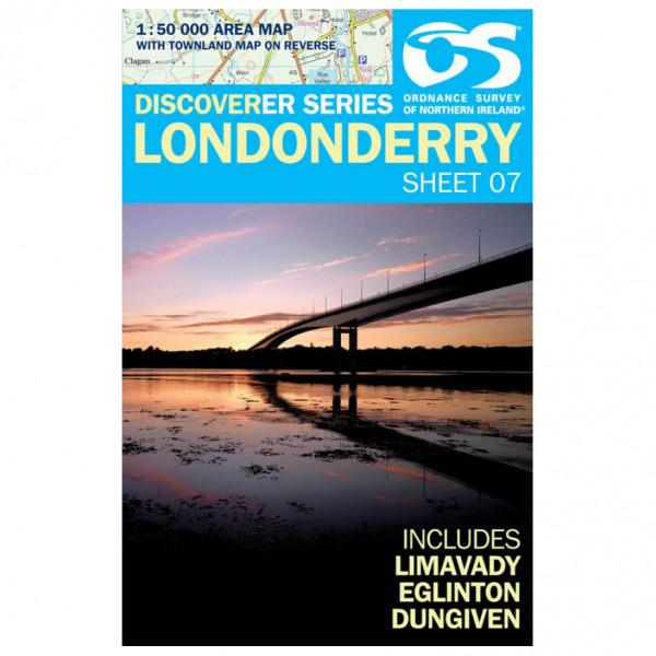 Ordnance Survey - Londonderry - Hiking map