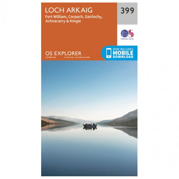Ordnance Survey - Lord Akraig - Wandelkaarten