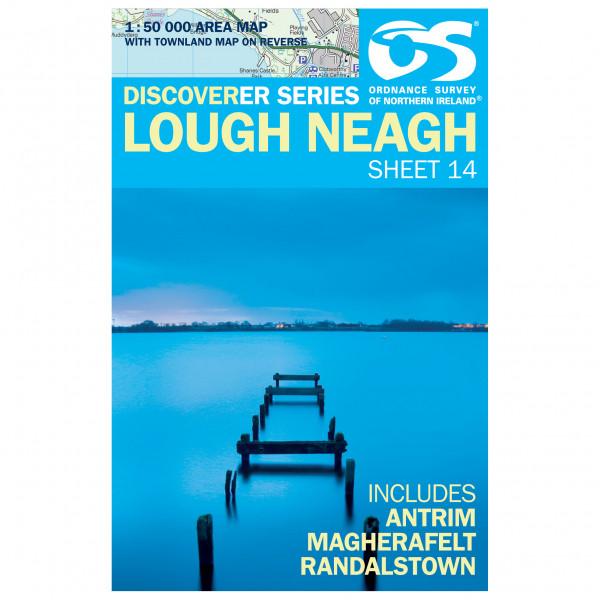 Ordnance Survey - Lough Neagh (Antrim,Magherafelt) - Vaelluskartat