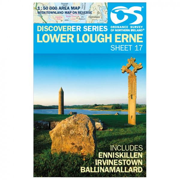 Ordnance Survey - Lower Lough Erne - Wandelkaarten