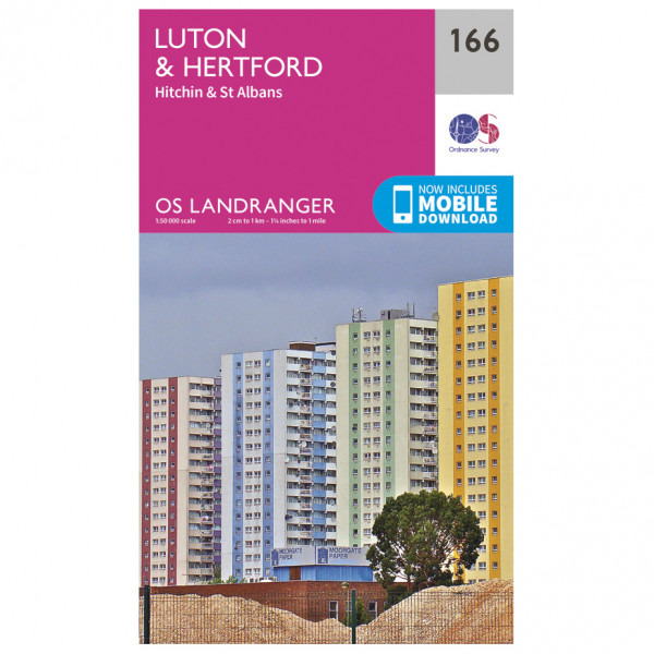 Ordnance Survey - Luton / Hertford / Hitchin / St Albans - Vandringskartor