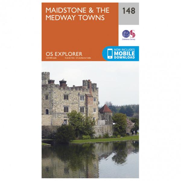 Ordnance Survey - Maidstone / Medway Towns - Wandelkaarten
