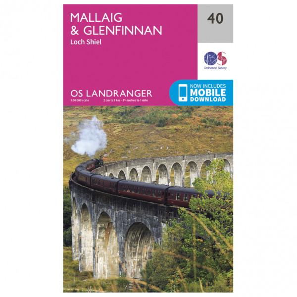 Ordnance Survey - Mallaig / Glenfinnan - Vandringskartor
