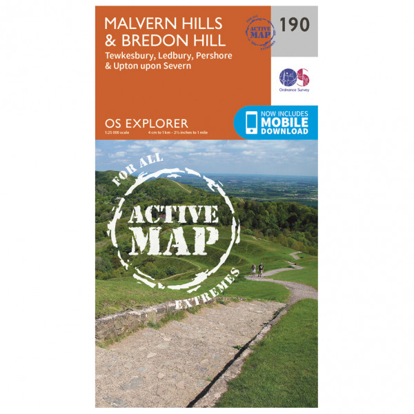 Ordnance Survey - Malvern Hills / Bredon Hill Waterproof - Turkart