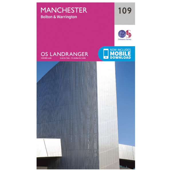 Ordnance Survey - Manchester - Hiking map