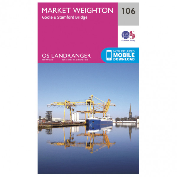 Ordnance Survey - Market Weighton - Wandelkaarten